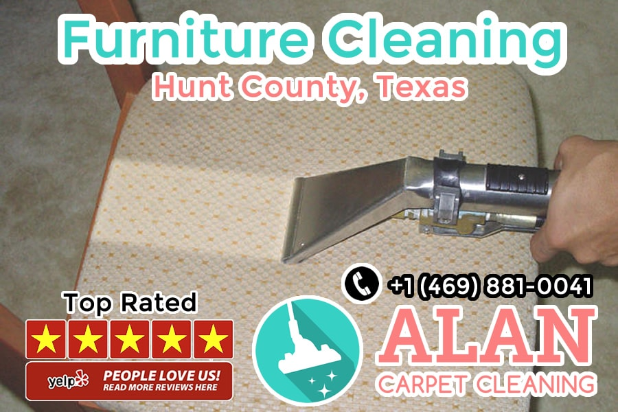 furniture cleaning service in hunt texas